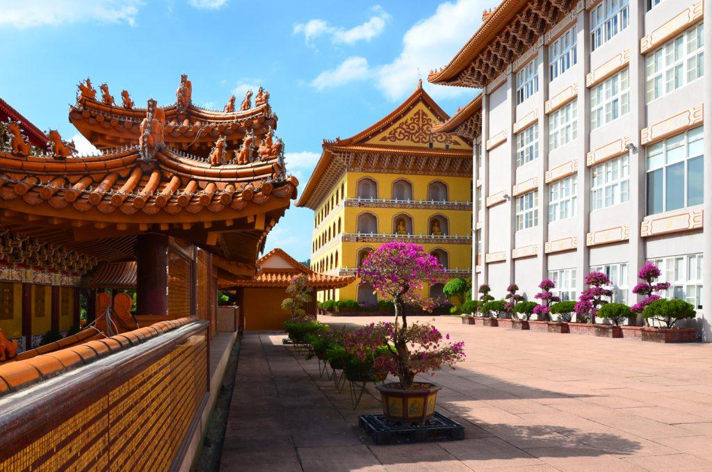 Taiwan: Čo vidieť? Kaohsiung - Fo Guang Shan