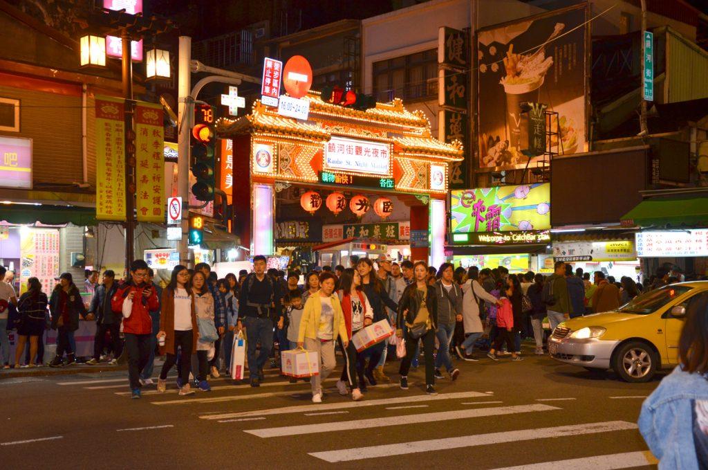 Výlet Taiwan - Taipei - Raohe Night Market