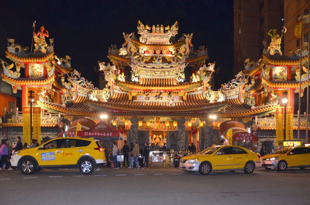 Tawain: Čo vidieť? Taipei - Songshan Ciyou Temple