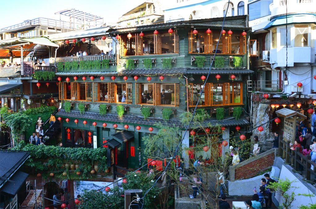 Výlet Taiwan: Potulky po Jiufen