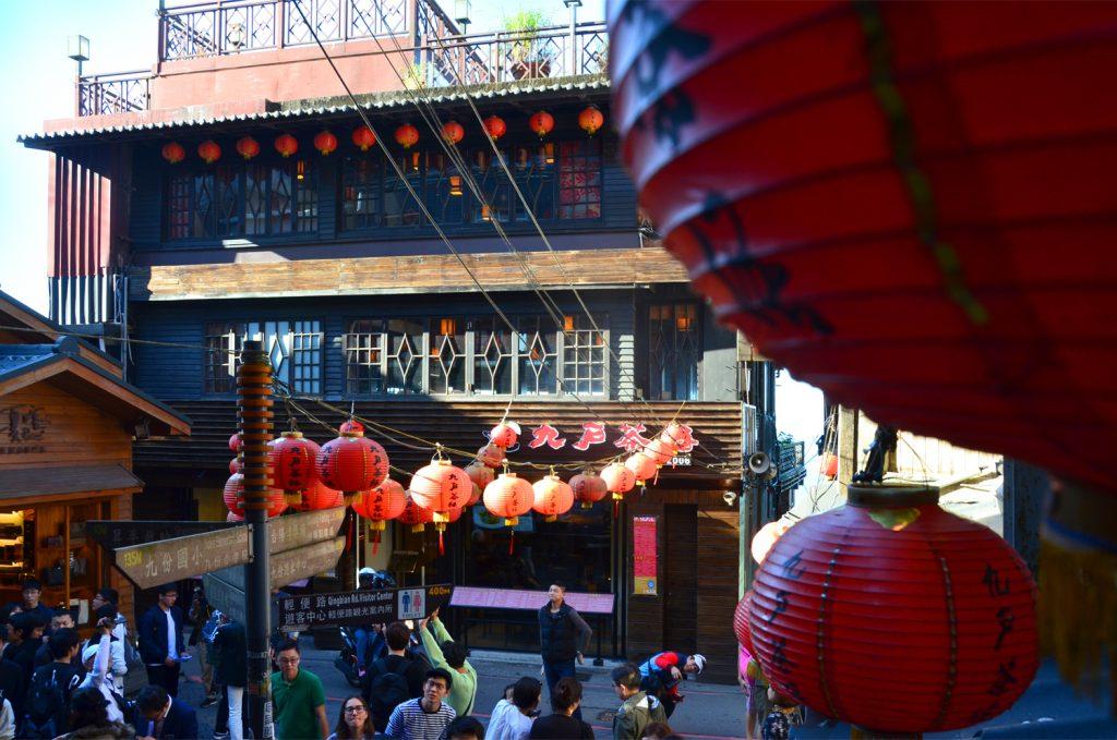 Výlet Taiwan: Lampióny