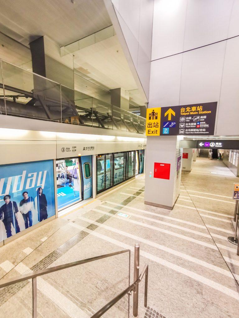 Koľko stojí dovolenka v Ázii - Metro v Taipei