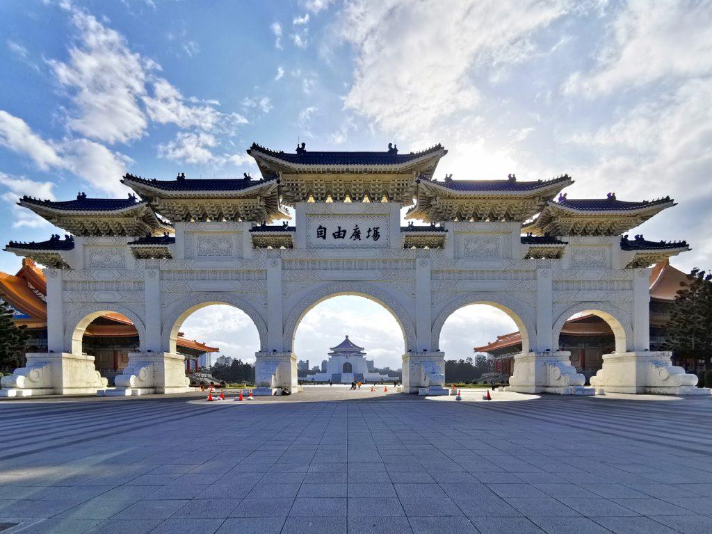 Výlet Taiwan - Taipei - Liberty Square Arch