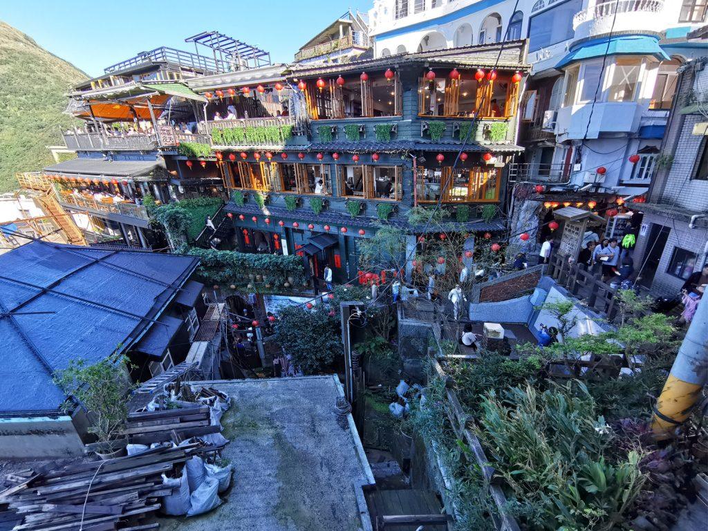 Výlet Taiwan: Jiufen - prechádzka po meste