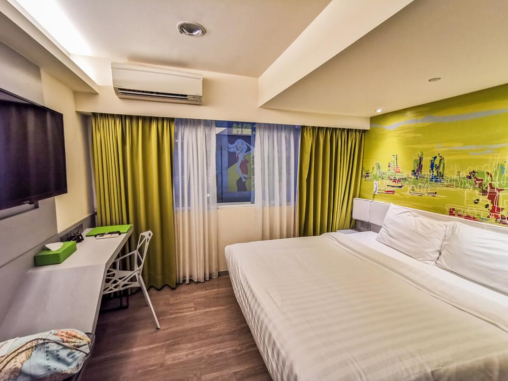Hotelová izba v meste Kaohsiung