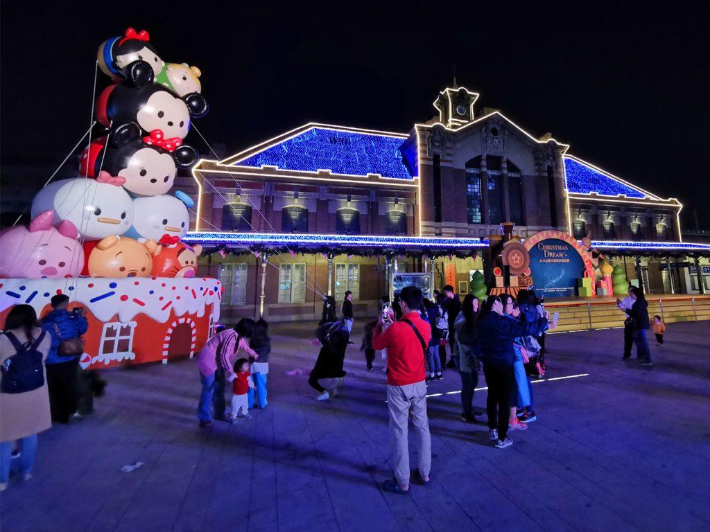 Taichung - vianočné trhy