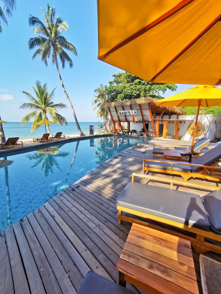 Koľko stojí dovolenka v Ázii - Hotel na ostrove Koh Phangan