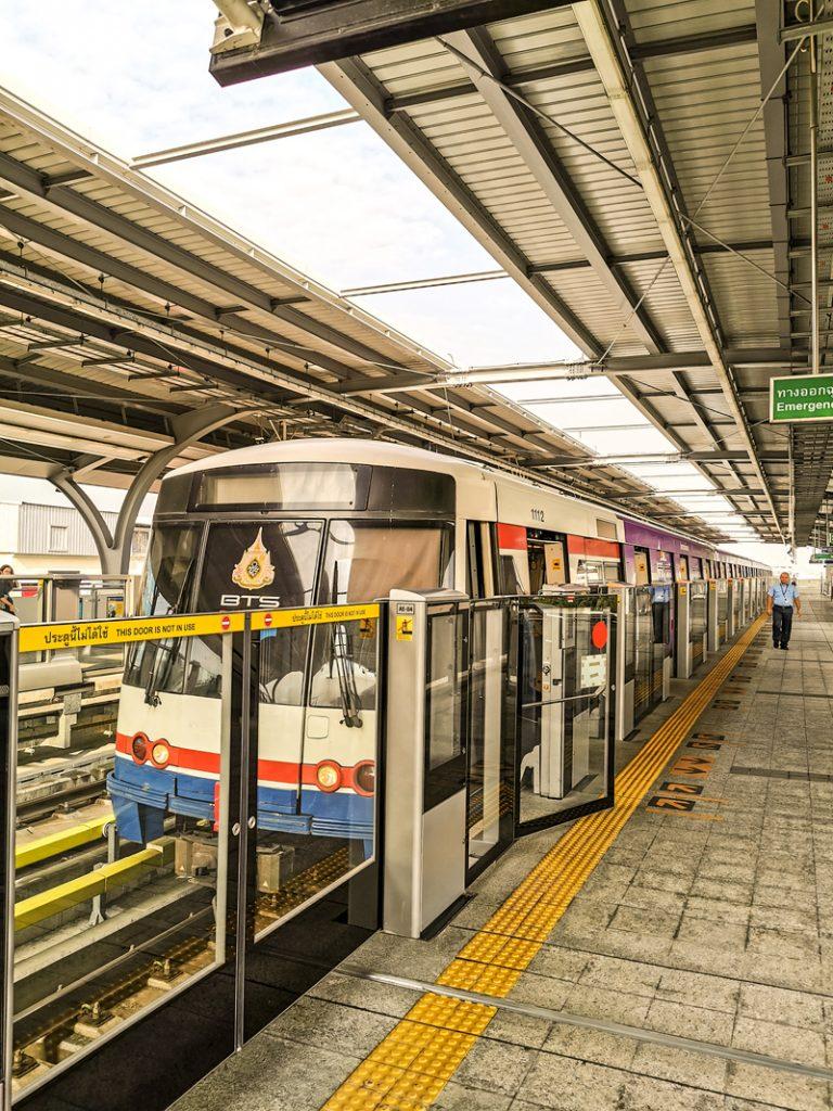 Verejná doprava v Bangkoku