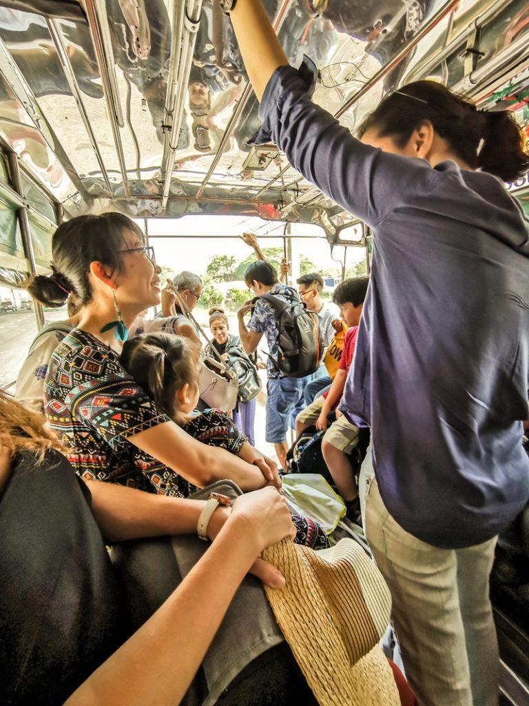 Koľko stojí dovolenka v Ázii - Miestna doprava
