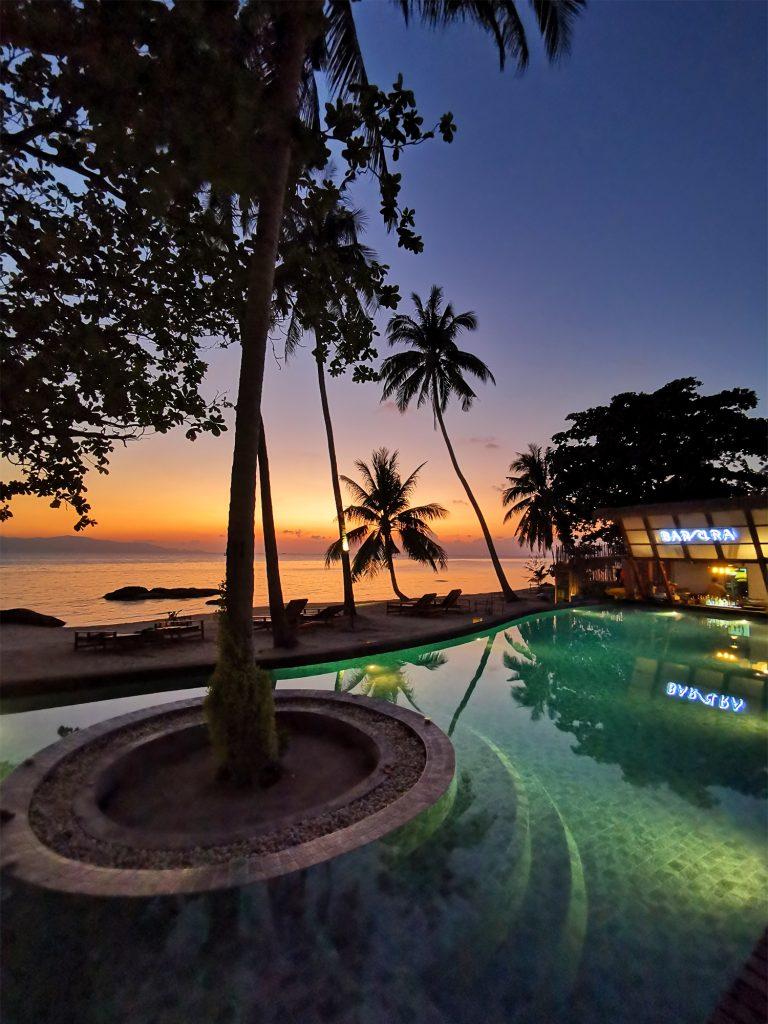 Thajsko / Koh Phangan / Západ slnka