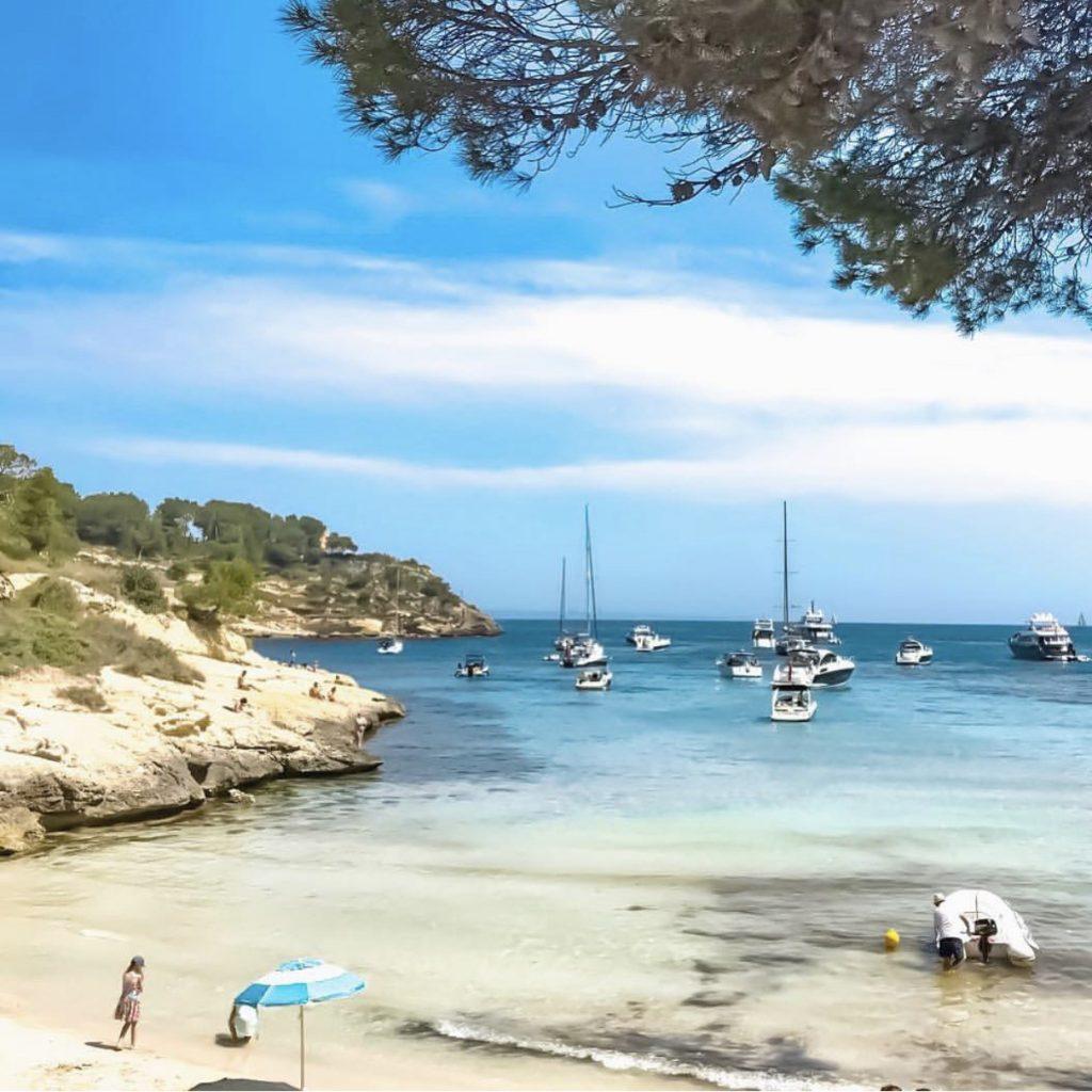 El Mago Beach / Mallorca / Španielsko