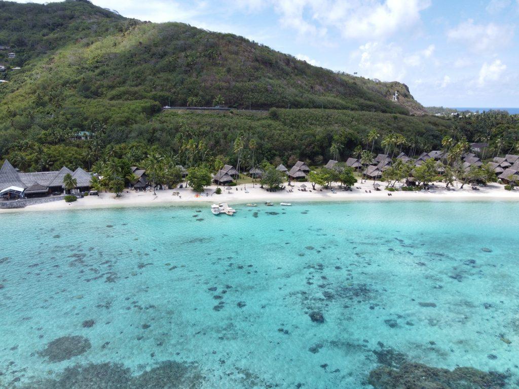 Pláž Tamae / Moorea / Francúzska Polynézia / Archív Martin