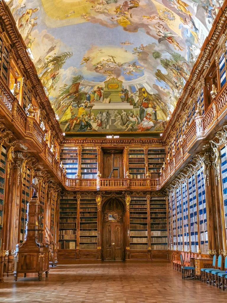 Najkrajšie knižnice: Strahovská knižnica