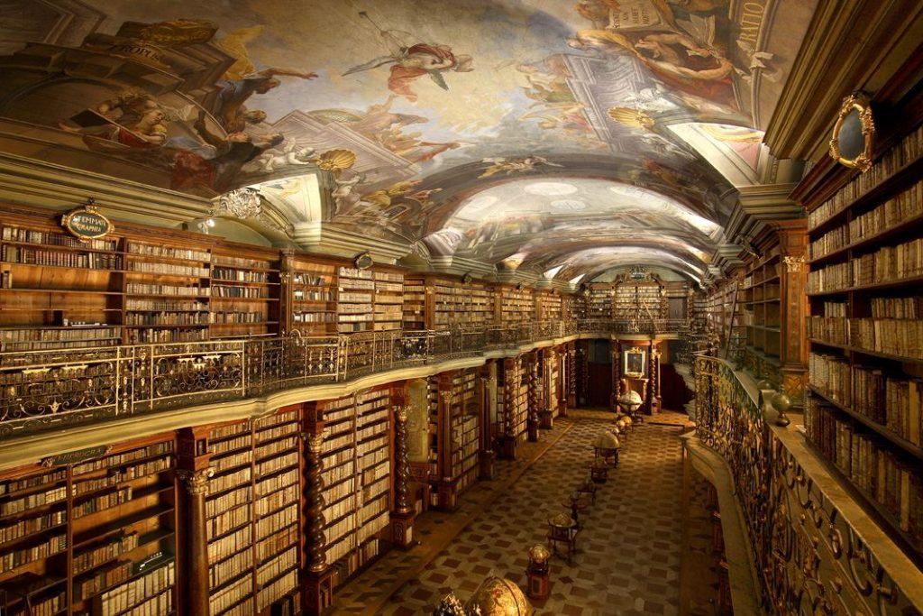 Najkrajšie knižnice: Knižnica Klementinum / Zdroj: Klementinum
