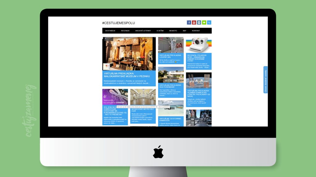 Najlepšie cestovateľské blogy - Cestujemespolu