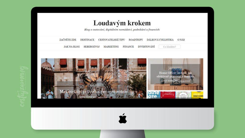 Zaujímavé travel blogy - Loudavým krokem