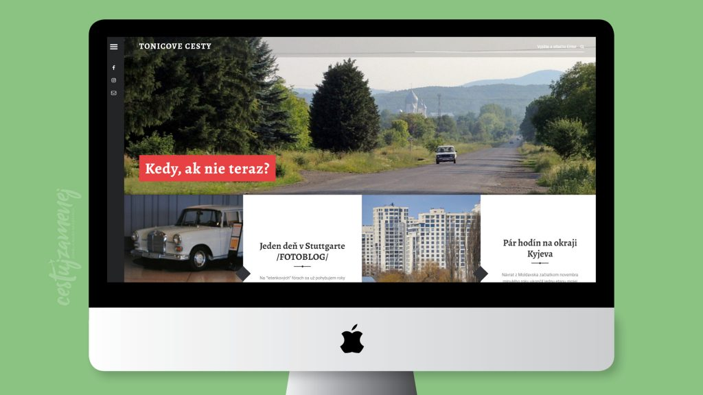 Travel blogy na Slovensku - Tonicove