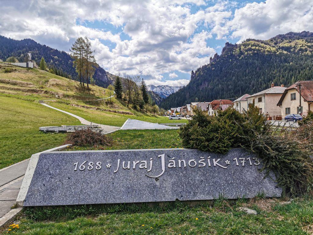 Terchová - Cestou k soche Juraja Jánošíka