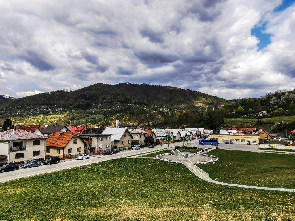 Výhľad na dedinu
