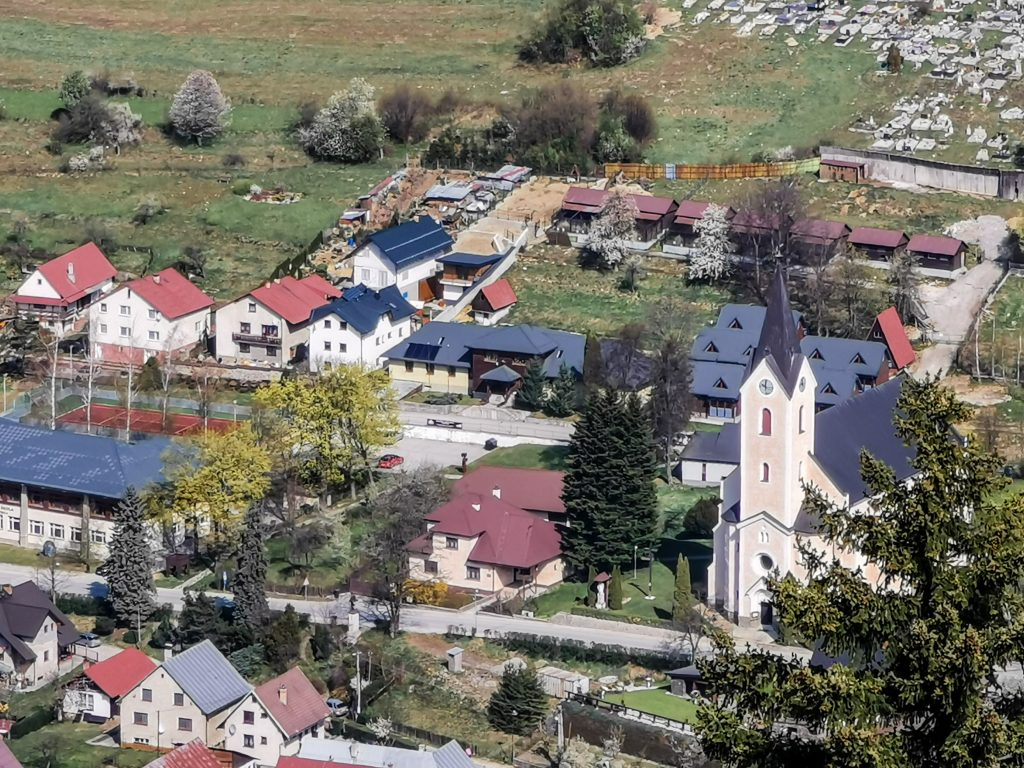 Stará Bystrica zhora