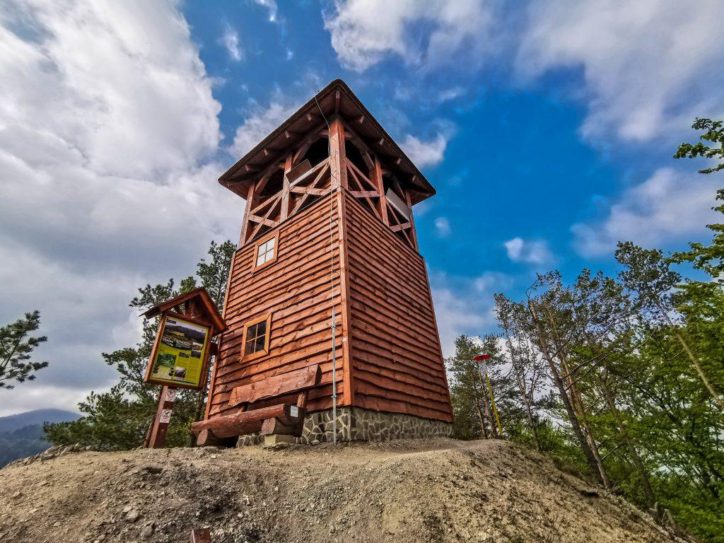 Strečno vyhliadková veža - lavička