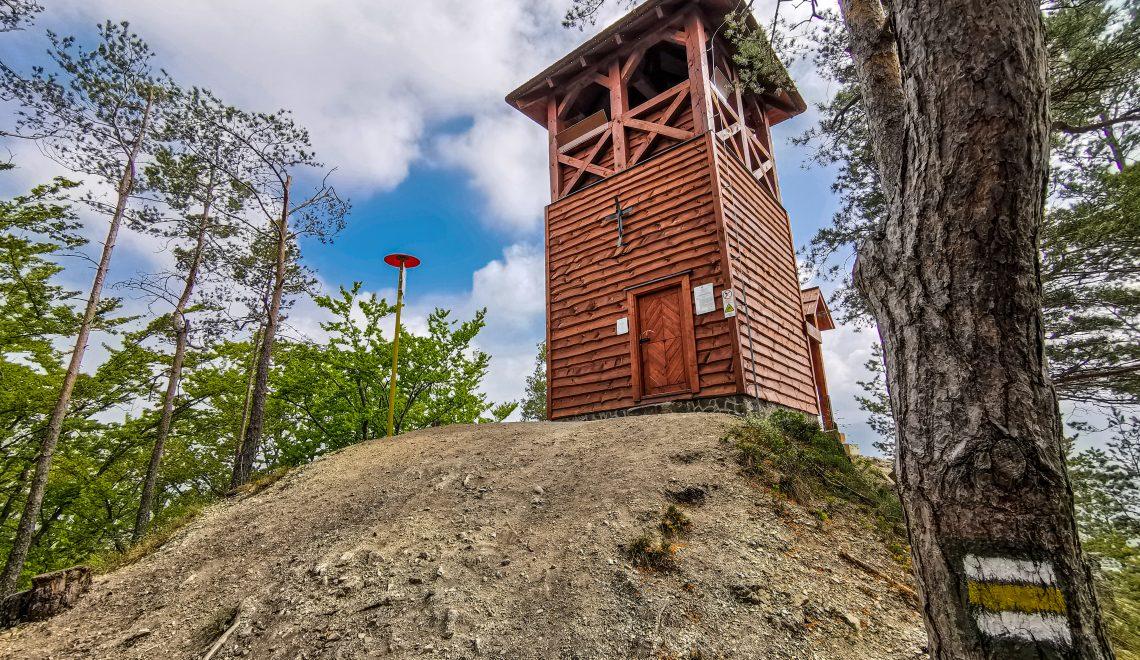 Strečno – Rozhľadňa na vrchu Špicák