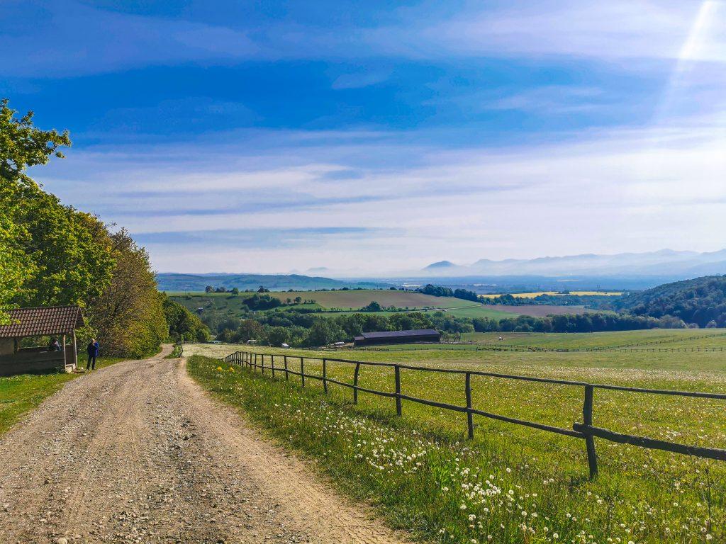 Cestou máte nádherné výhľady