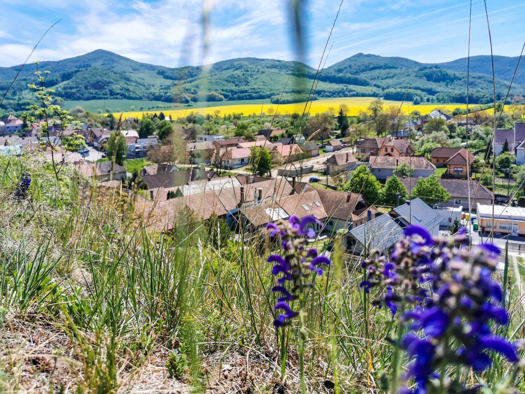 Soblahov - výhľad na dedinu