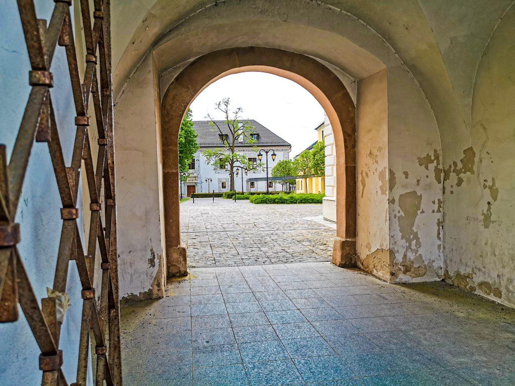 Zámocký areál Bytča - vstup