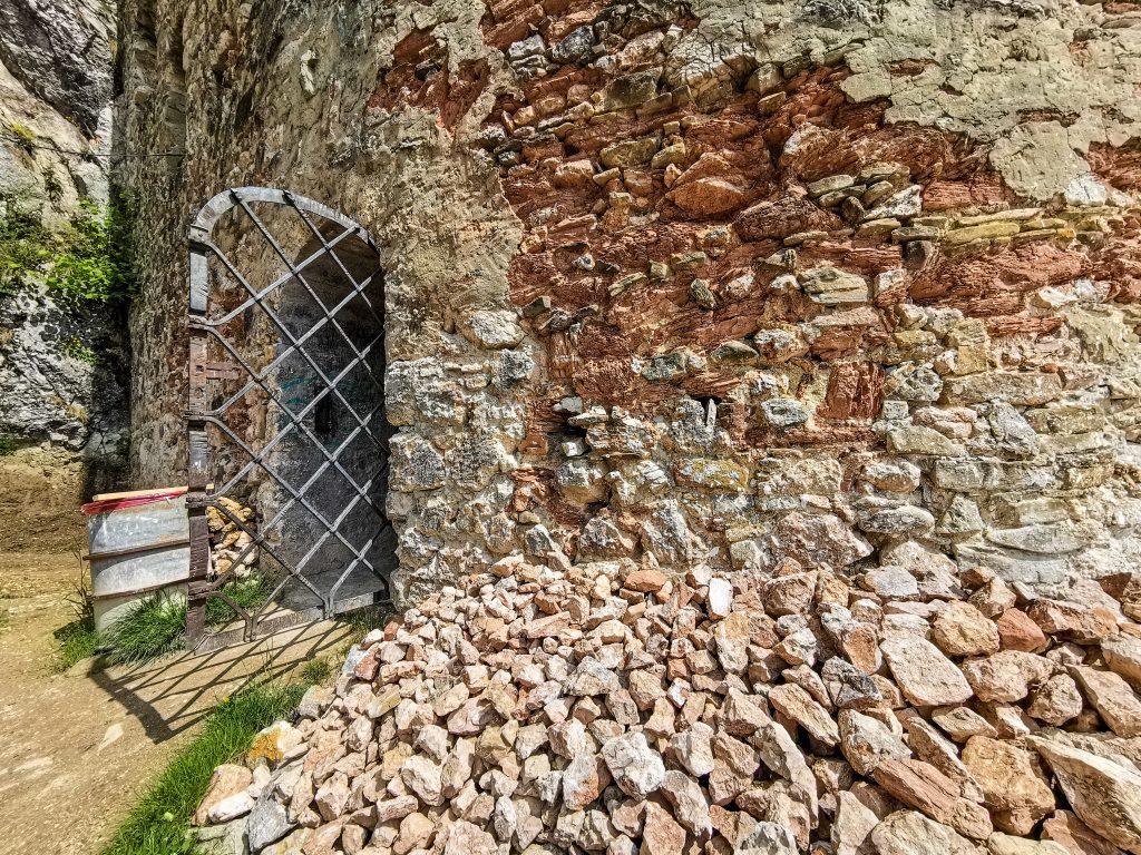 Vstup do hradu