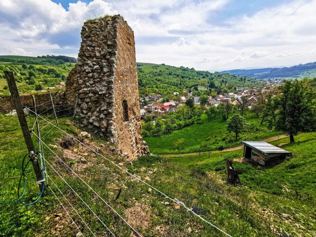 Výhľad z hradu
