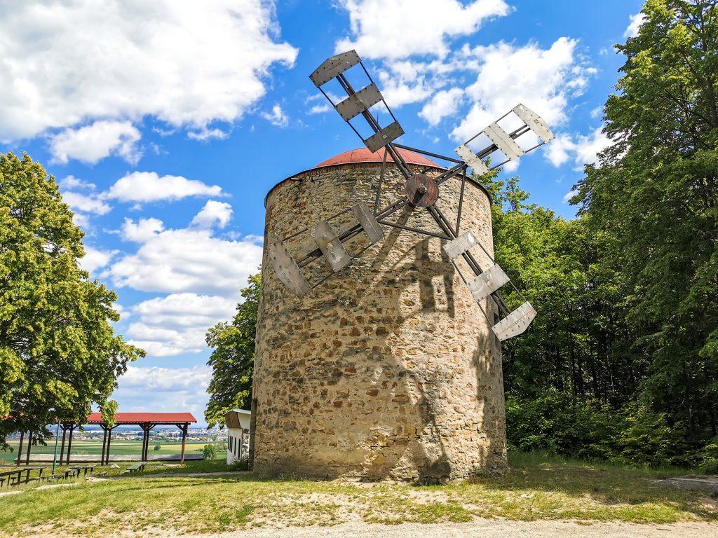Veterný mlyn v meste Holíč