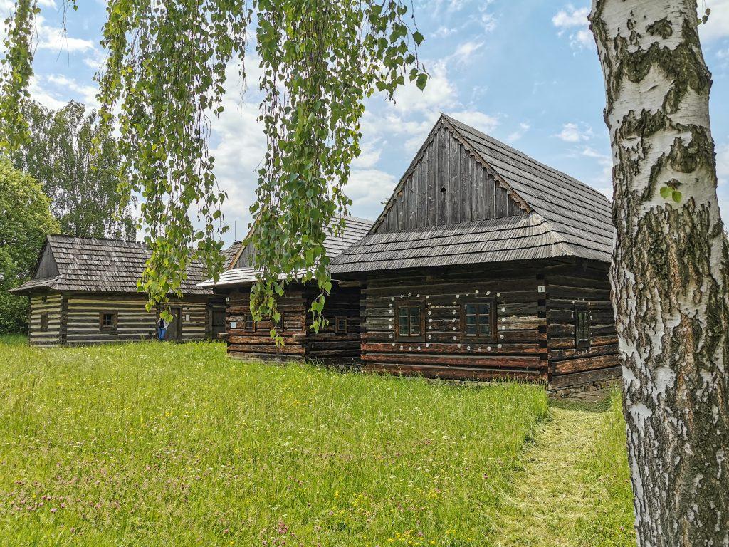 Múzeum slovenskej dediny - domčeky zo Zázrivej