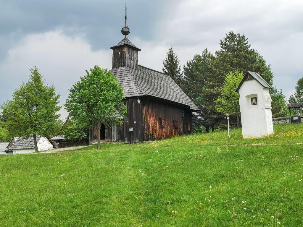 Múzeum slovenskej dediny - Kostol z Rudna