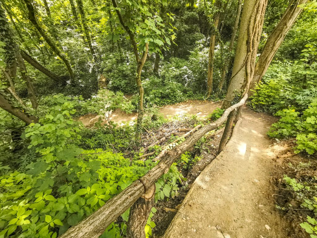 Haluzická tiesňava je unikátna prírodná pamiatka vyhĺbená miestnym potokom