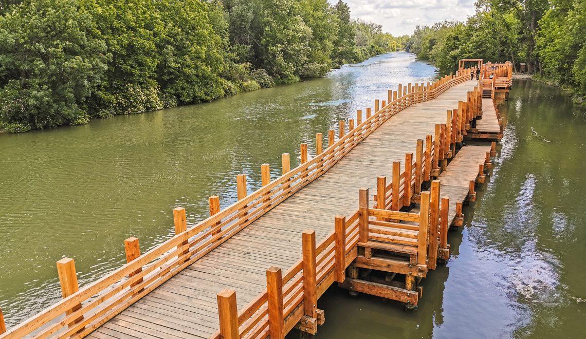 Korzo Zálesie na Malom Dunaji