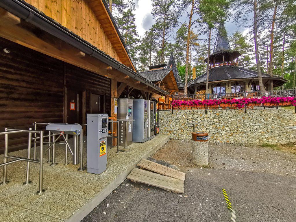 Vyhliadková veža v Bojniciach - Toalety