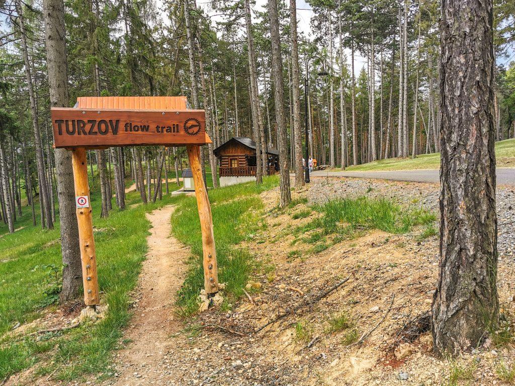 TURZOV FLOW TRAIL - Požívajte len na vlastnú zodpovednosť