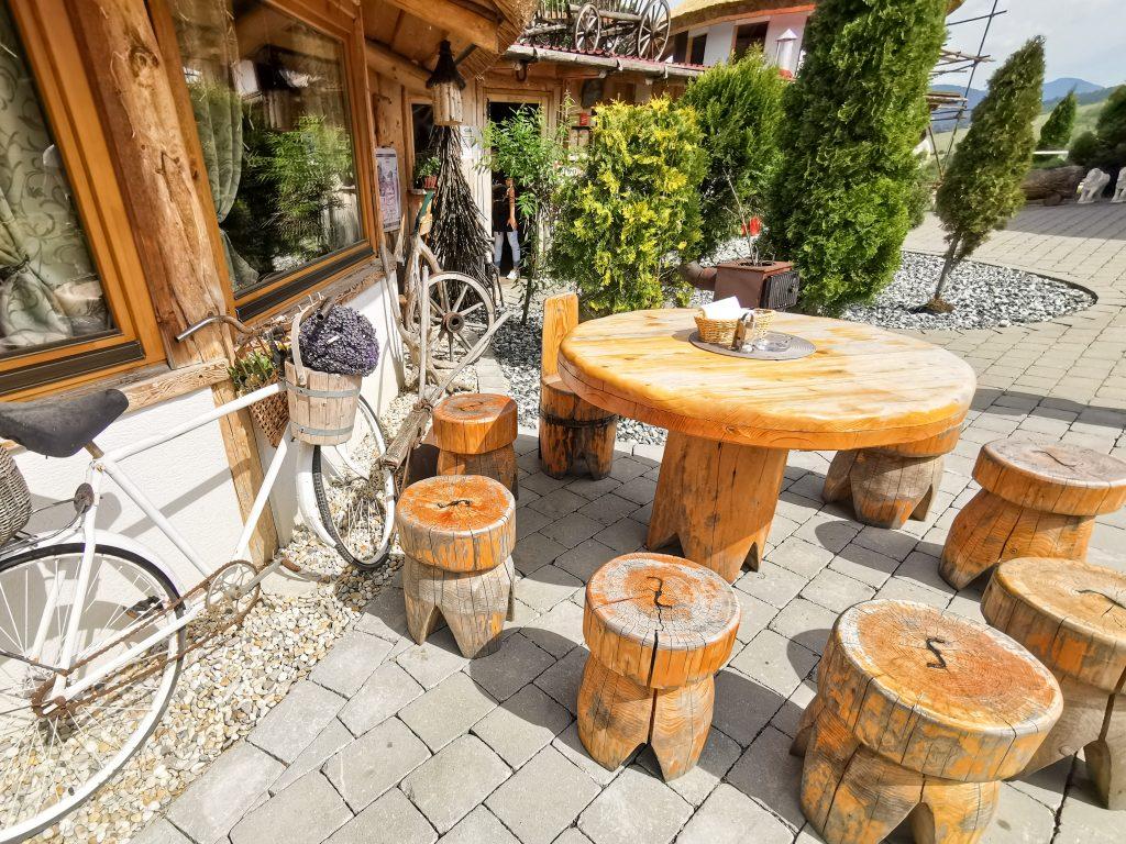 Koliba Panoráma - reštaurácia