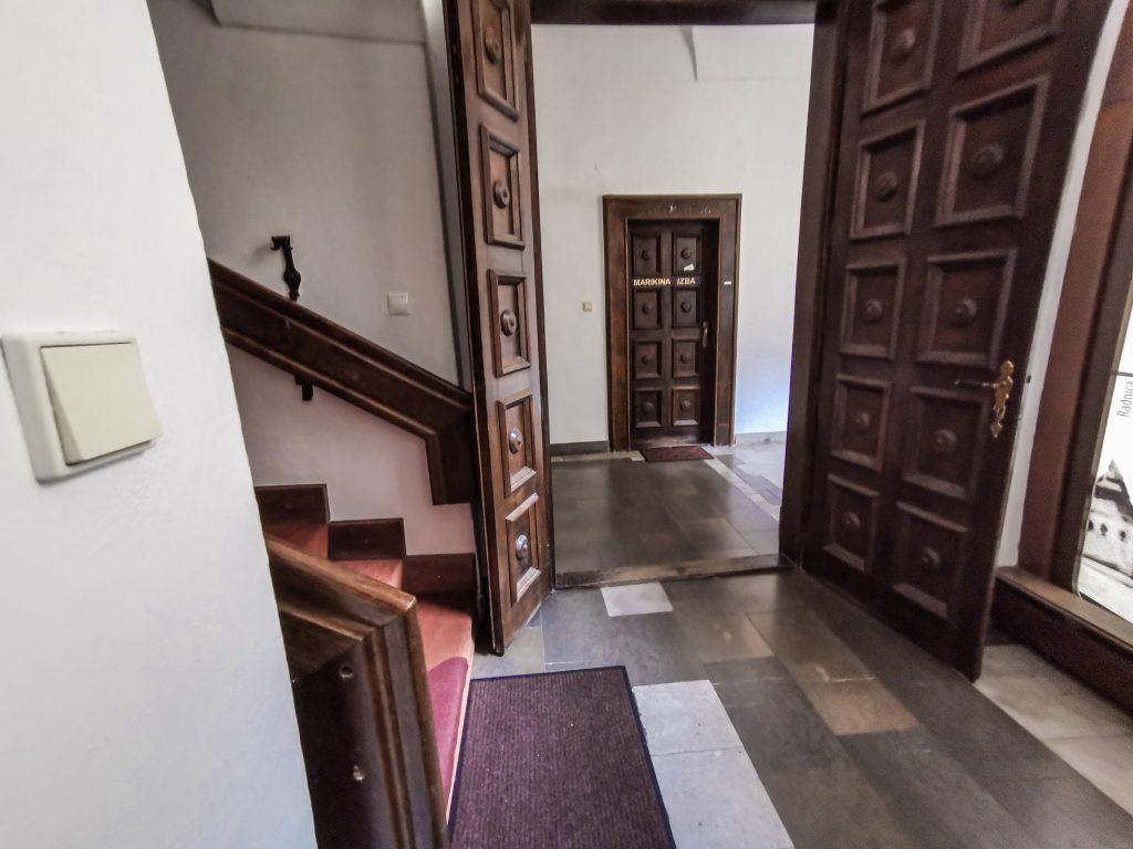 Vstup do žilinských katakomb