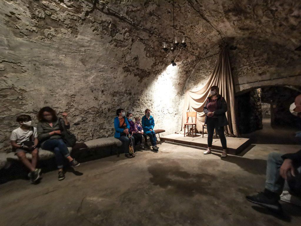Žilinské katakomby - počas výkladu sa dozviete mnoho informácií