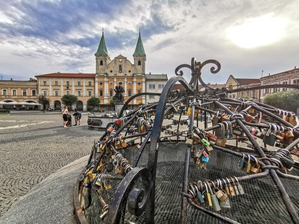 Žilina - Kostol Obrátenia sv. Pavla