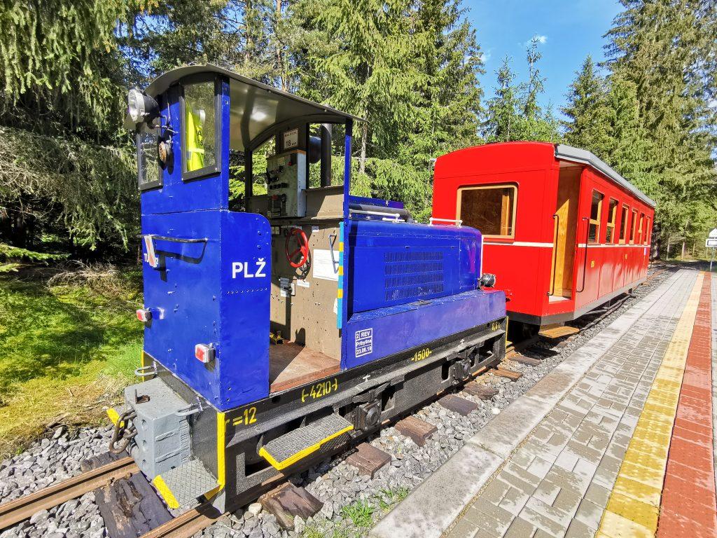 Skanzen Pribylina – Múzeum liptovskej dediny: Považská lesná železnica - denne odvezie až 300 návštevníkov