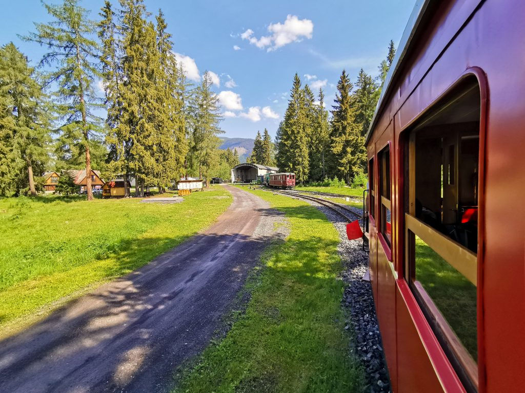 Považská lesná železnica - za 5 minút dorazíte do cieľa