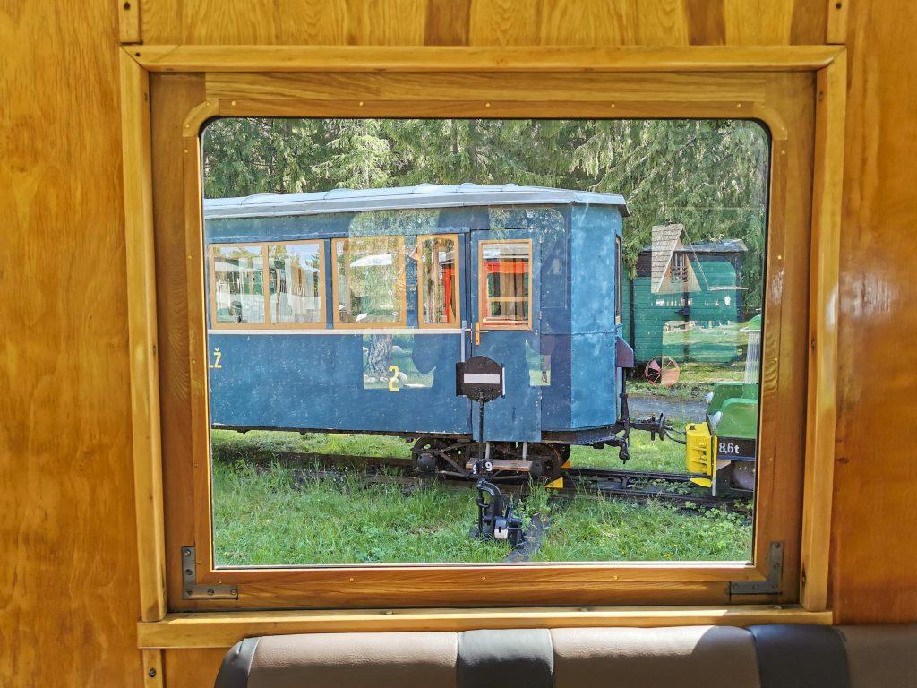 Skanzen Pribylina – Múzeum liptovskej dediny: Expozícia Považskej lesnej železnice