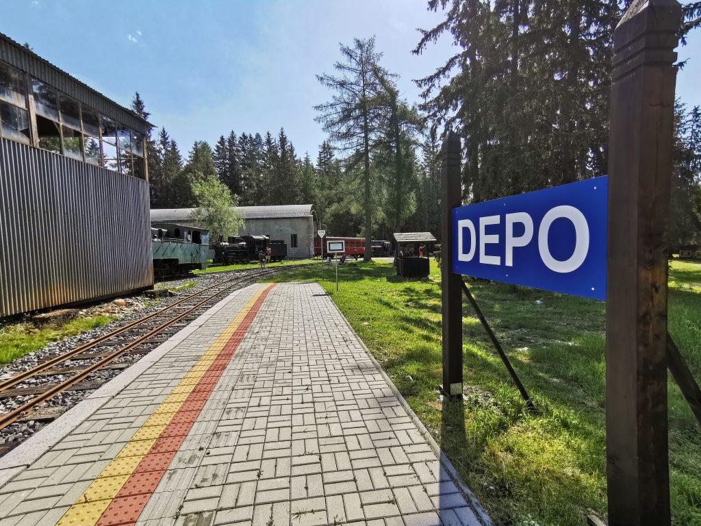 Zastávka Depo