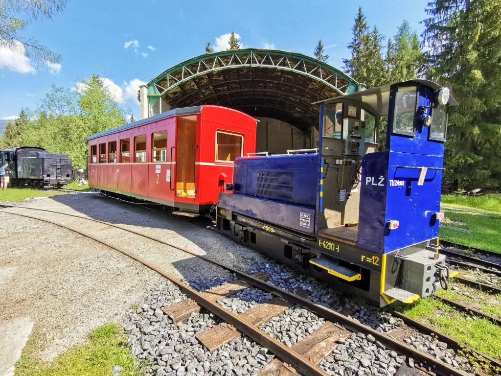 Skanzen Pribylina - Považská lesná železnica