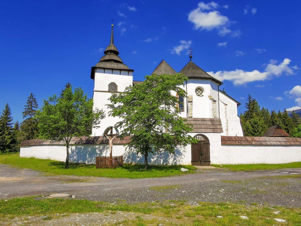 Skanzen Pribylina - Kostol Panny Márie