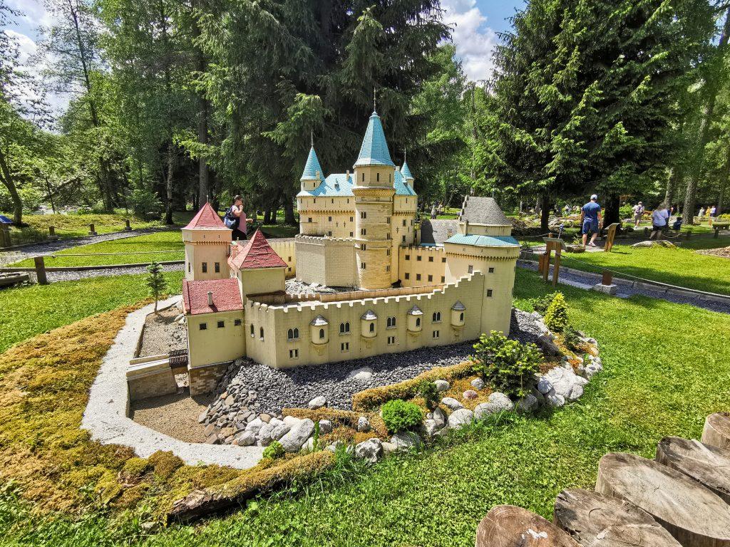 Liptovský Ján – Park miniatúr Mini Slovensko - Bojnice