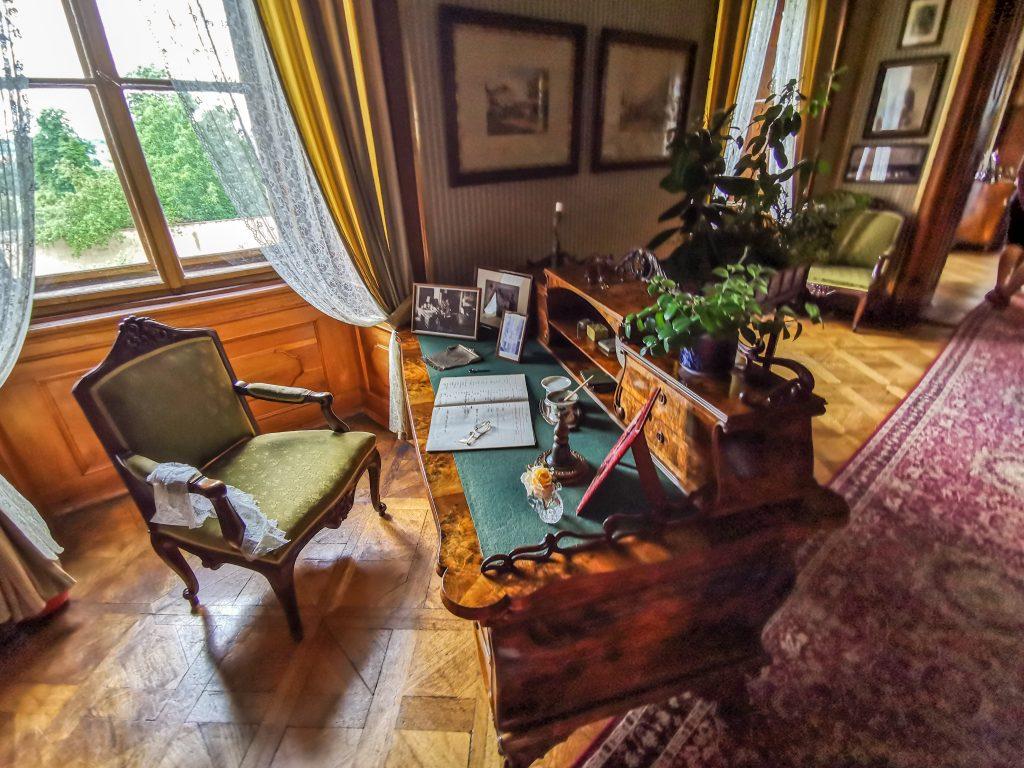 Zámok Milotice - kancelária hradnej pani